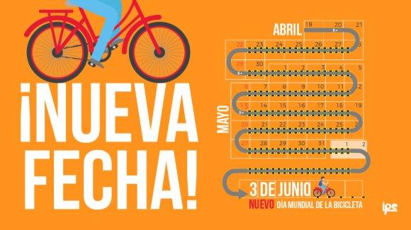 El Día Mundial de la Bicicleta se mudó de fecha por esta razón