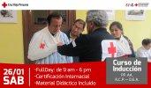 Curso de Inducción Primeros Auxilios, RCP y DEA
