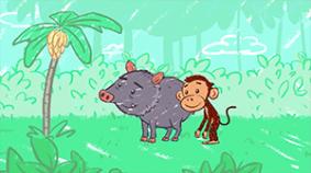 Koshi y el reto de la anaconda