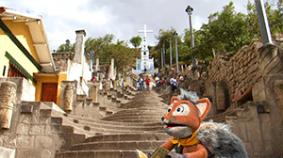 Mia en Cajamarca, la ciudad de la wachuma