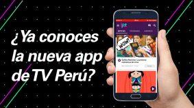 IPe en la nueva app de TV Perú