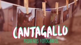 El Día mundial de la fotografía con los niños y niñas de Cantagallo