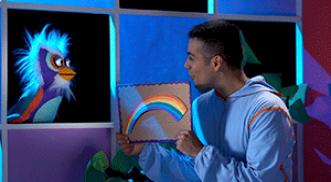 ¿Cómo se forman los arcoíris?