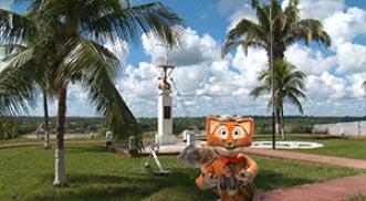 Franco en la capital de la biodiversidad