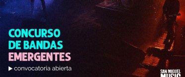 San Miguel Music - Convocatoria de bandas emergentes