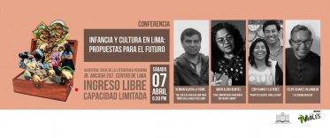 """Conferencia """"Infancia y Cultura en Lima"""""""