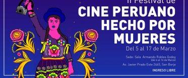 Sala Robles Godoy: II Festival de Cine Peruano Hecho por Mujeres
