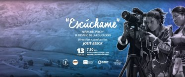 "Estreno proyecto documental ""Escúchame"""