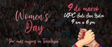 Women's Day - Por más mujeres en la tecnología