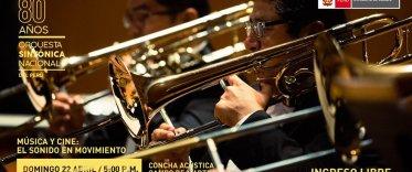 Música y Cine - Orquesta Sinfónica Nacional