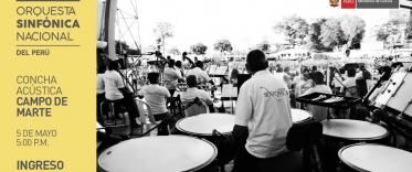 Concierto gratuito - Orquesta Sinfónica Nacional/Campo de Marte