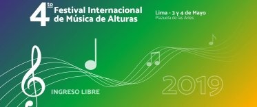 4to Festival Internacional de Música de Alturas (FIMA)