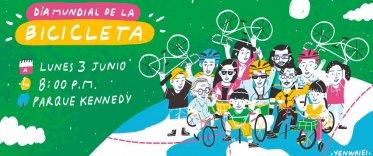 """Cleteada """"Día Mundial De La Bicicleta"""""""