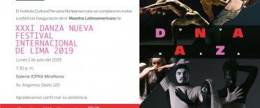 XXXI Danza Nueva Festival Internacional de Lima 2019