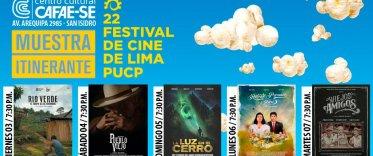 Muestra Itinerante Centro Cultural CAFAE-SE 22° Festival de Cine