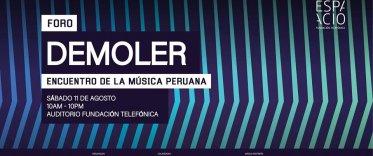 Foro Demoler: Encuentro de la Música Peruana