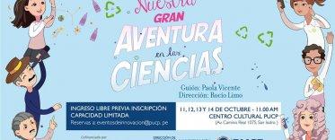 """Teatro """"Nuestra Gran Aventura en las Ciencias"""""""