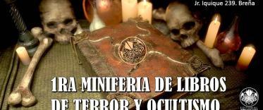 1ra Miniferia de libros de terror y ocultismo