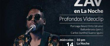 ZAV : Concierto pro-fondos videoclip