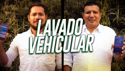 Whizz y Spray Wash: Lavado vehicular sin gastar agua