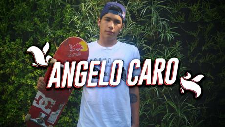 Angelo Caro, el peruano que triunfa en el mundo del skate