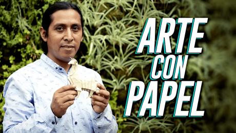 Figuras de papel: Conoce cómo esta asociación busca promover el origami en Cusco