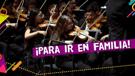 """""""Mi Primer Concierto"""": una oportunidad para acercarnos a la música sinfónica"""