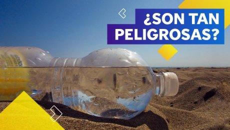 Las botellas de plástico: no tan buenas con el planeta y tu salud