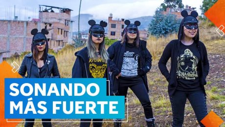 Las Ratapunks: el grupo de chicas que llevará el punk de Cajamarca a Europa