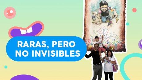Niños peruanos que luchan contra enfermedades raras fueron inmortalizados en murales