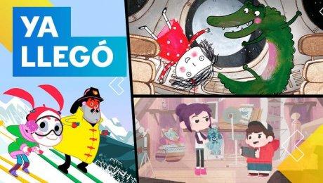 ¡Los dibujos animados más divertidos llegan a Canal IPe en marzo!