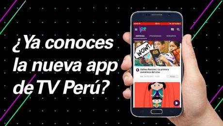 Lo mejor de Canal IPe en la nueva app de TV Perú