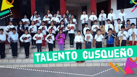 La música de los chicos de Quispicanchi