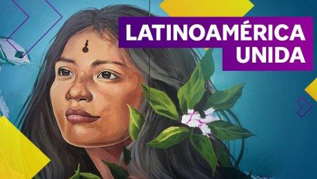 Amazonarte: muralistas peruanos y latinoamericanos se juntan para crear a la distancia