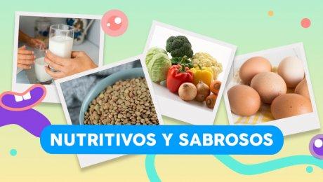 Ingredientes poderosos para platos nutritivos