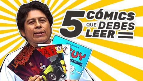 5 cómics peruanos que debes leer
