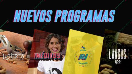 Canal IPe se renueva: Nuevos programas llegan a nuestra pantalla