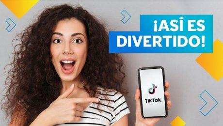 ¡TikTok también puede enseñarte idiomas!