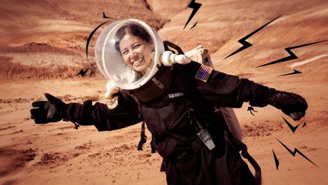 Jackelynne Silva Martínez, la ingeniera que sueña con ser astronauta