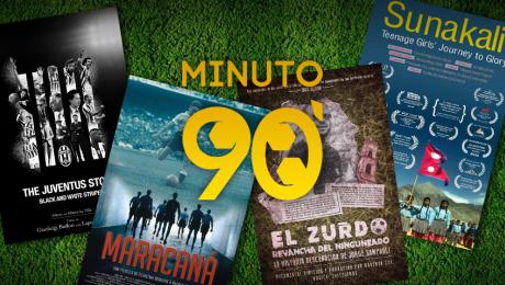Minuto 90: el cine y el fútbol se juntan en tremendo festival