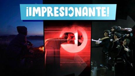 Imágenes conceptuales: Videoclips de Baqueta y Claqueta
