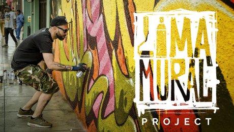 Conoce a Lima Mural, el proyecto que busca pintar con arte la ciudad