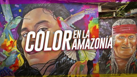 Amazonarte, el festival de muralización de la amazonía peruana