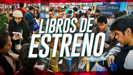 5 nuevos libros peruanos que no te puedes perder en la Feria del Libro 2018