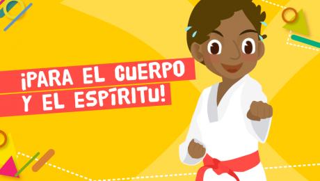 ¿Qué pueden aprender los chicos de las artes marciales?