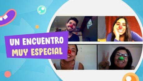 Conexión Jaja: visitas virtuales llenas de risas para los chicos