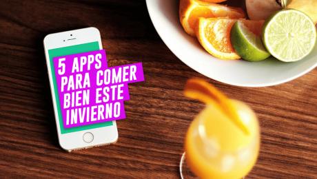 Un app para comer bien durante invierno