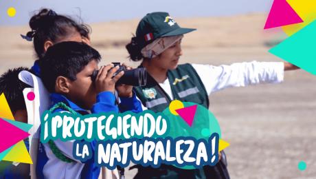 Escolares son los nuevos guardaparques en Paracas