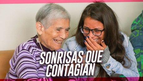 """Estos voluntarios van """"Pintando Sonrisas"""" a los adultos mayores de Lima"""