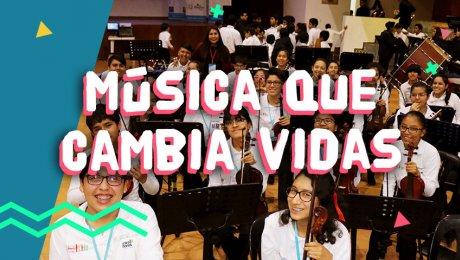 Los chicos y chicas del Puericultorio Pérez Araníbar serán parte de Sinfonía por el Perú